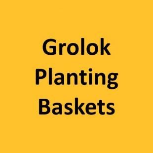 GROLOK Planting Baskets